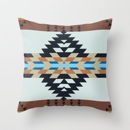 American Native Pattern No. 133 Throw Pillow