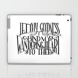 Bind My Wandering Heart Laptop & iPad Skin