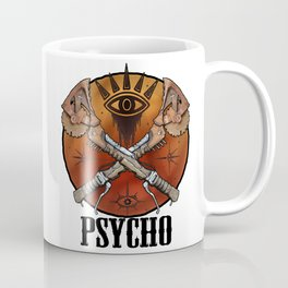 Borderlands Psycho Buzz Axe Coffee Mug