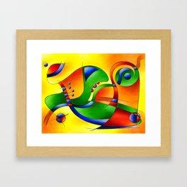 Antaressa - colourful world Framed Art Print