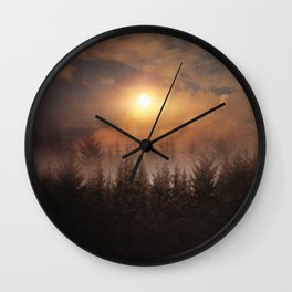 A new beginning IX Wall Clock