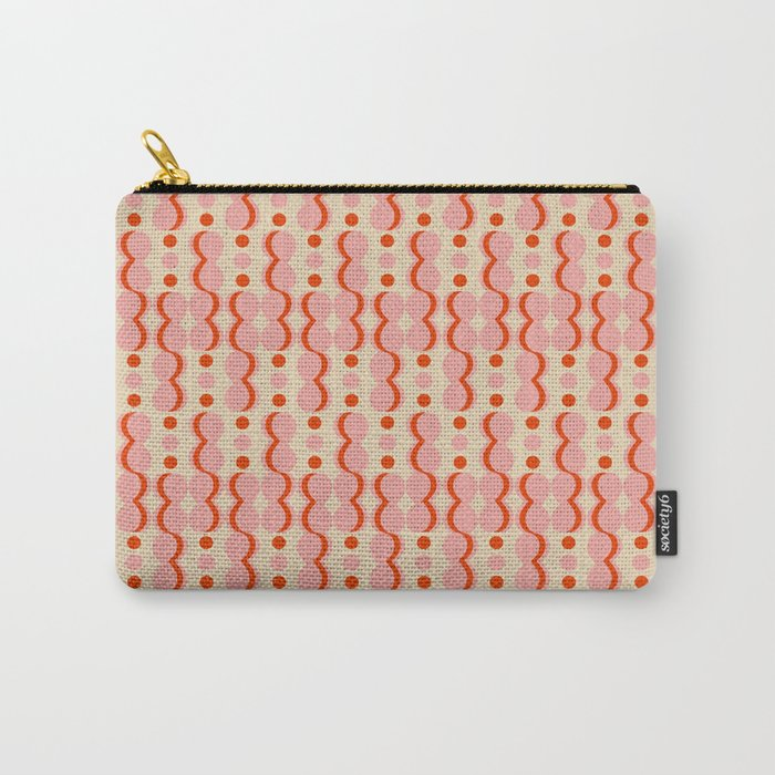 Uende Love - Geometric and bold retro shapes Carry-All Pouch