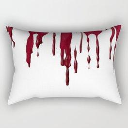 GOTH BLEEDING ART DESIGN Rectangular Pillow
