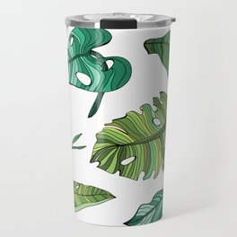 BANAN LEAVES Travel Mug