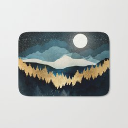 Indigo Night Bath Mat