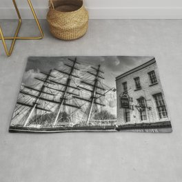 The Cutty Sark and Gypsy Moth Pub Rug