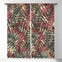 Floral Blackout Curtain