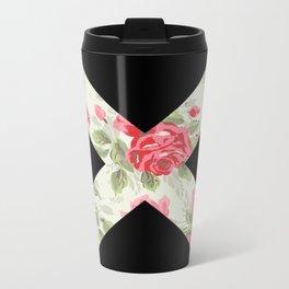 X Floral   X Metal Travel Mug