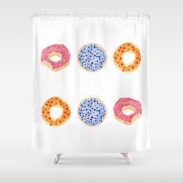 doughnut selection Shower Curtain