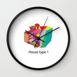 House Type 1 Wall Clock