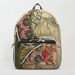 Alfons Mucha - Dreamy - Digital Remastered Edition Backpack