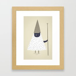wizard. Framed Art Print