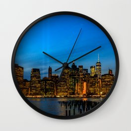 Tribute in Light. New York City, 2 Wall Clock