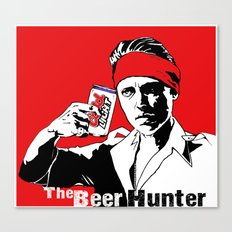 The Beer Hunter Canvas Print