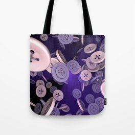 Raining Buttons Tote Bag