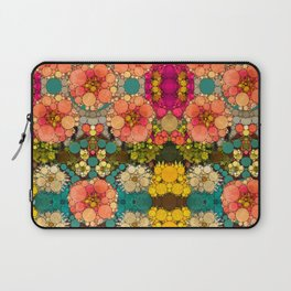 Perky Flowers! Laptop Sleeve