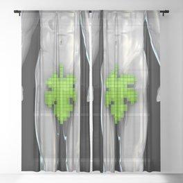 Digital Adam Sheer Curtain