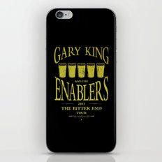 Gary King and the Enablers iPhone Skin