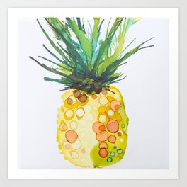 Pineapple Daiquiri Art Print