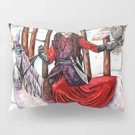 Winter Warrior by DeeDee Draz Pillow Sham
