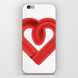 In the name of love iPhone Skin