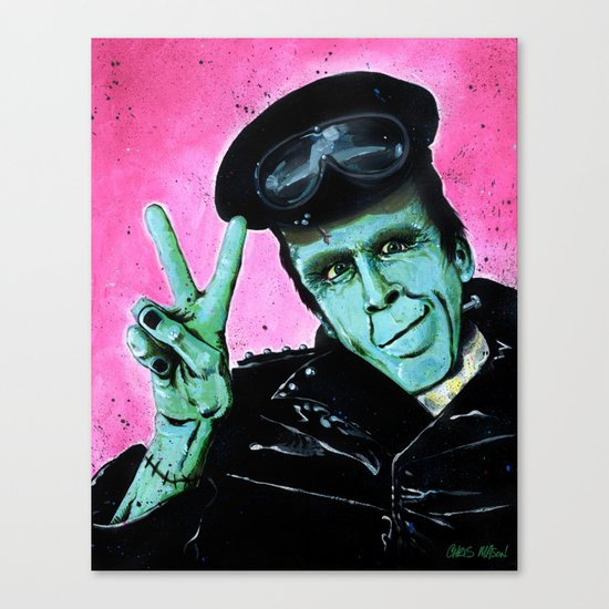 Munster Go Home! Canvas Print