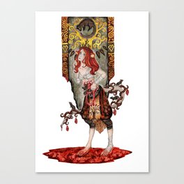 Queen of Mice Canvas Print