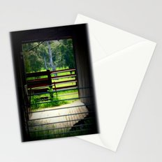 Looking through an old cattle Shed Stationery Cards