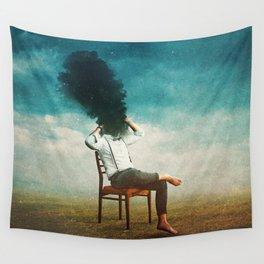 Smoke Signal Wall Tapestry