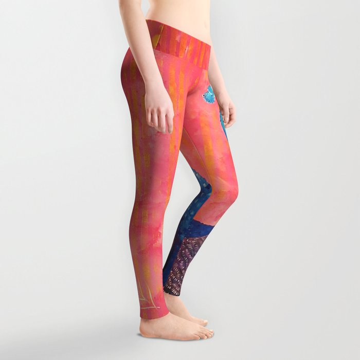 Peacock - Colour Me Happier Leggings