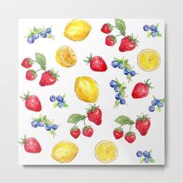 Fruits Metal Print