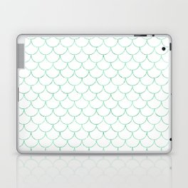 Mermaid Scales in Green Laptop & iPad Skin
