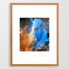 Tributary Framed Art Print