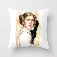 Princess and General Throw Pillow