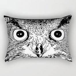 The Elder Owl Rectangular Pillow