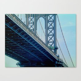 Manhattan Bridge - NYC Canvas Print