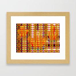 Golden cage ... Framed Art Print