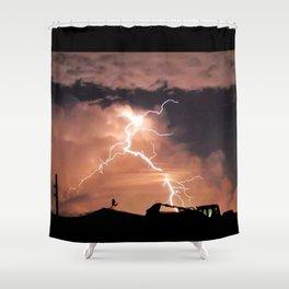 Mister Lightning Shower Curtain