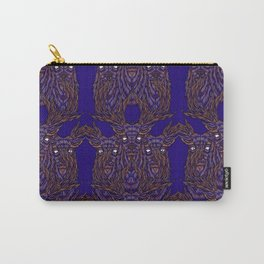 Abstract Stag Carry-All Pouch