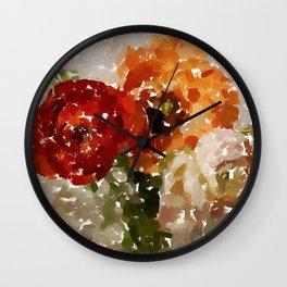 Trio Ranunkel Wall Clock