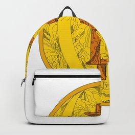 Bitcoin Doodle Art Backpack