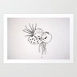 Biomorph 2 Art Print