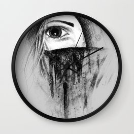Cold Wall Clock