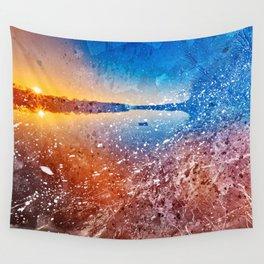Acrylic Potomac Sunset Wall Tapestry