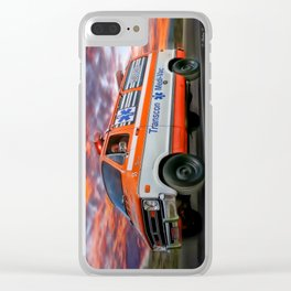 The Cannonball Run (Captain Chaos) Clear iPhone Case