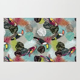 Tropical Birds (Color 2 - Bold) Rug
