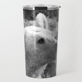 Syrian Brown Bear Portrait Travel Mug