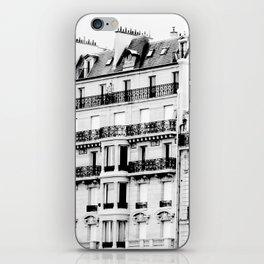 paris rooftops iPhone Skin