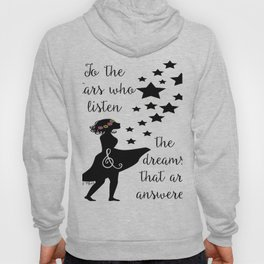 To the Stars Who Listen Hoody