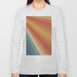 Retro 70s Sunrays Long Sleeve T-shirt